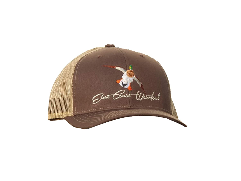 マガモHunting Trucker Hats | East Coast水鳥  ブラウン/カーキ B07JHZPBBL
