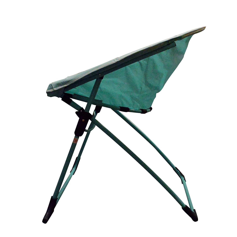 Gray Impact Canopy Luna Lightweight Portable Folding Dorm Chair