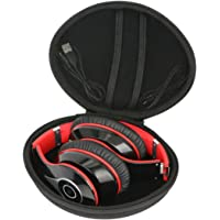Duro Viajar Caso Cubrir para Mpow 059 Auriculares Bluetooth de Diadema Inalámbricos Cascos Plegable headphone por co2CREA