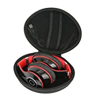 Hard Travel Case for Mpow Bluetooth Headphones Over Ear Foldable Stereo Wireless Headsets by co2CREA