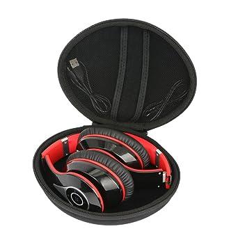Duro Viajar Caso Cubrir para Mpow 059 Auriculares Bluetooth de Diadema Inalámbricos Cascos Plegable headphone por