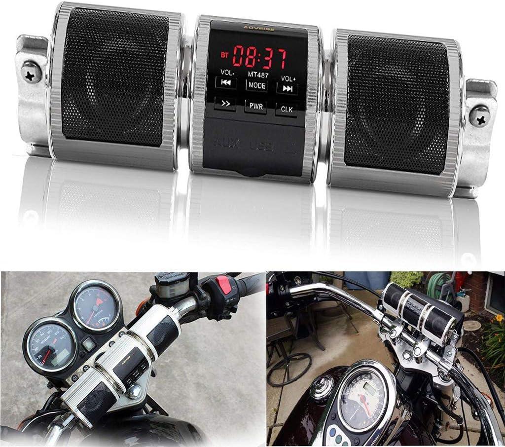 Impermeable Bluetooth Inalámbrico Motocicleta Scooter Bicicleta ...
