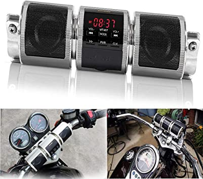 Impermeable Bluetooth Inalámbrico Motocicleta Scooter Bicicleta ...
