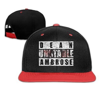 620f82716b3 ABSOP Dean Ambrose Unstable Ambrose Hip-Hop Snapback Hat Caps For Kids