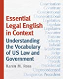 Essential Legal English in Context: Understanding