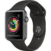 Apple Watch Series 3 GPS Caja de Aluminio Gris Espacial 42 mm Correa Deportiva Negra