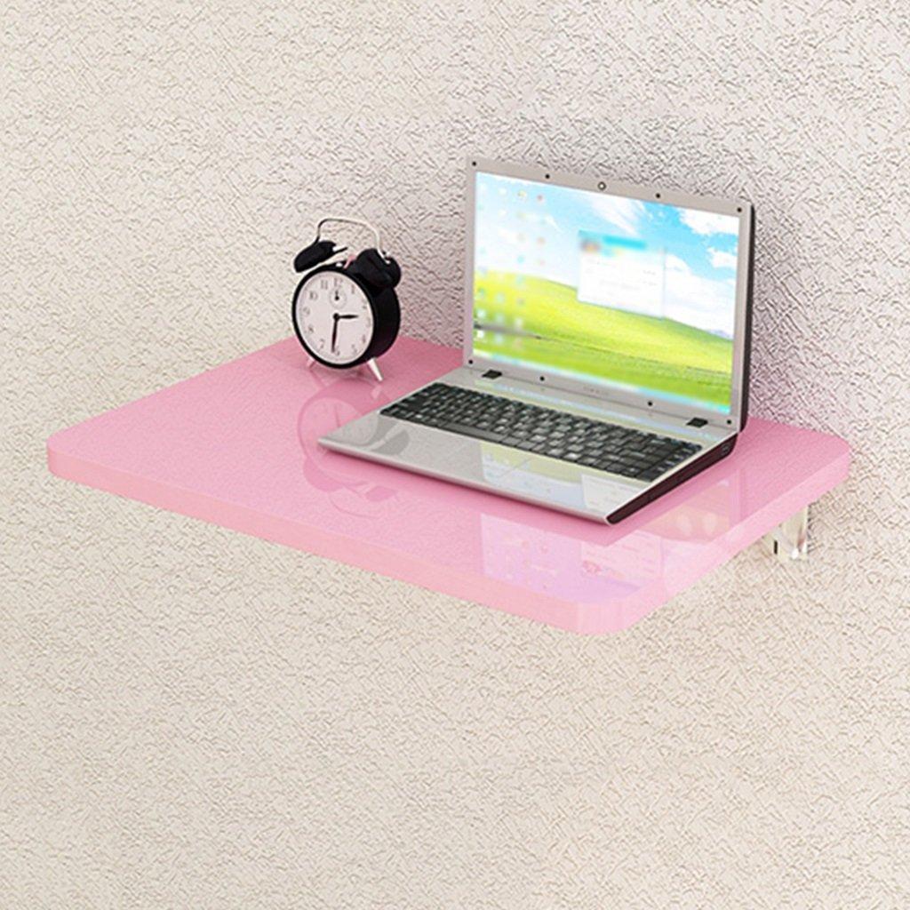 折りたたみ式コンピュータデスクピンク壁掛けダイニングテーブル壁掛け収納棚 ( サイズ さいず : 80cm*50cm ) B07BT2NBNN 80cm*50cm 80cm*50cm