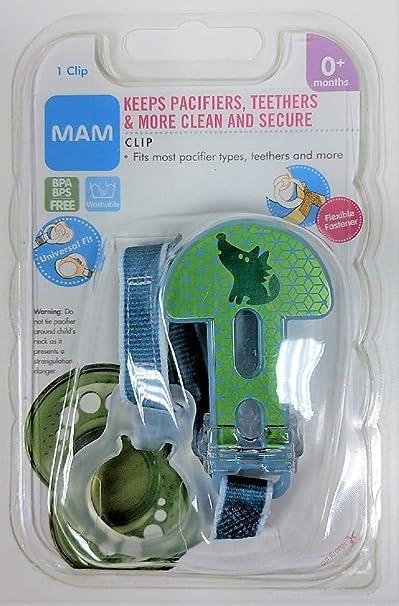 Amazon.com: MAM chupete clip (Surtido): Baby