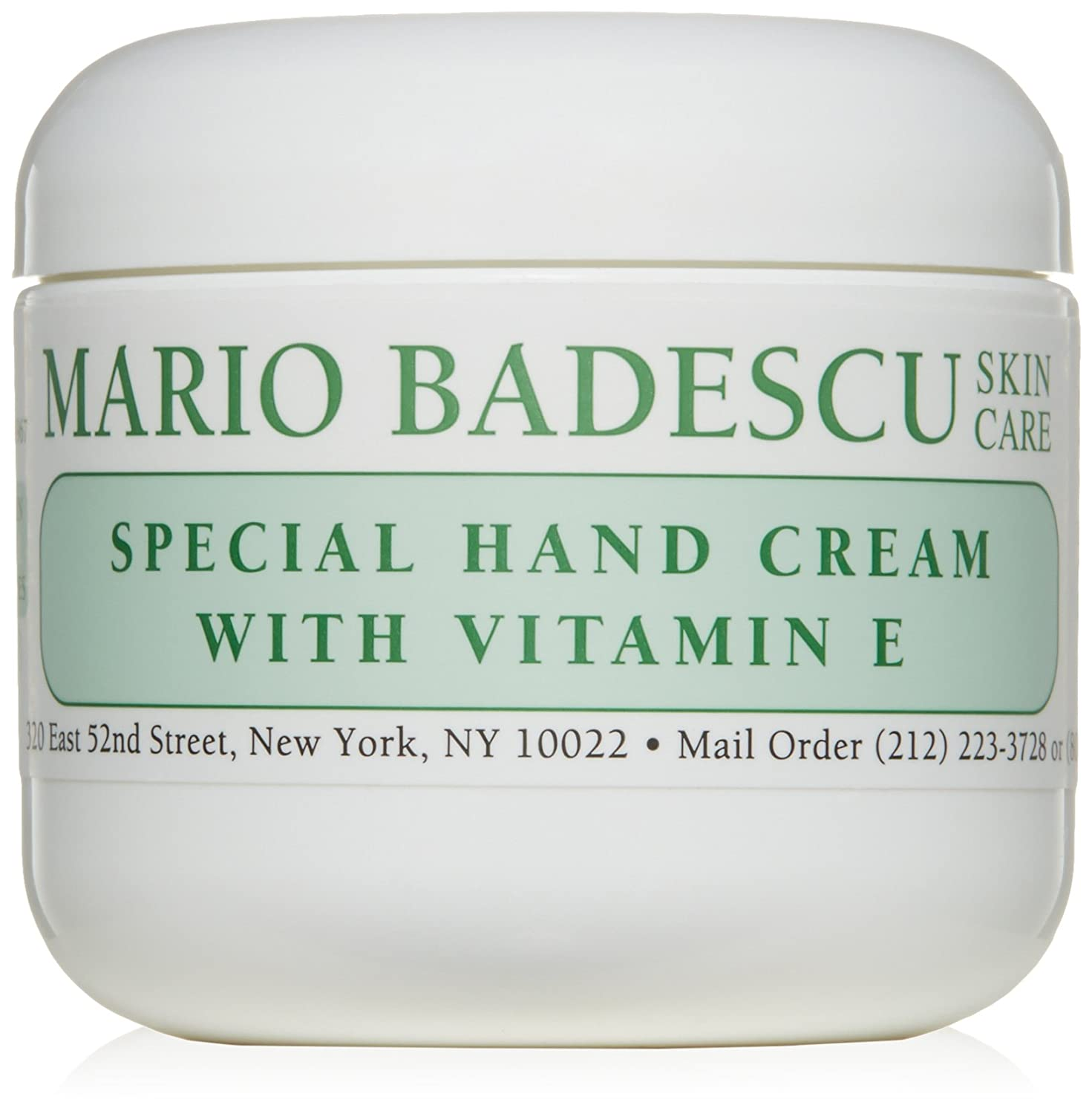 Amazon.com: Mario Badescu Special Hand Cream with Vitamin E, 8 oz.: Luxury Beauty