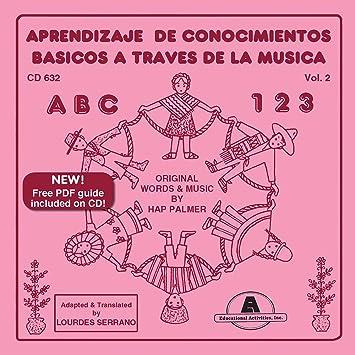 Hap Palmer - Learning Basic Skills Through Music Vol. 2 Spanish - Amazon.com Music