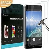 [2confezione] Huawei P9pellicola protettiva, Rusee Huawei P9vetro temperato [Defintion] [anti-bolle] [9H durezza] pellicola proteggi schermo per Huawei P9