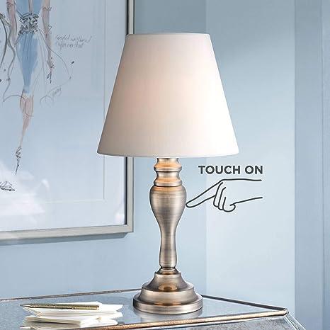 Amazon.com: Thom Touch lámpara de mesa por Regency Hill en ...