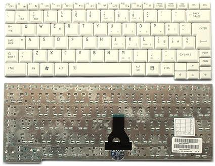 Teclado italiana para ordenador portátil Toshiba Portege R500 – Blanca