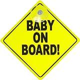 GripFast Baby On Board Sign