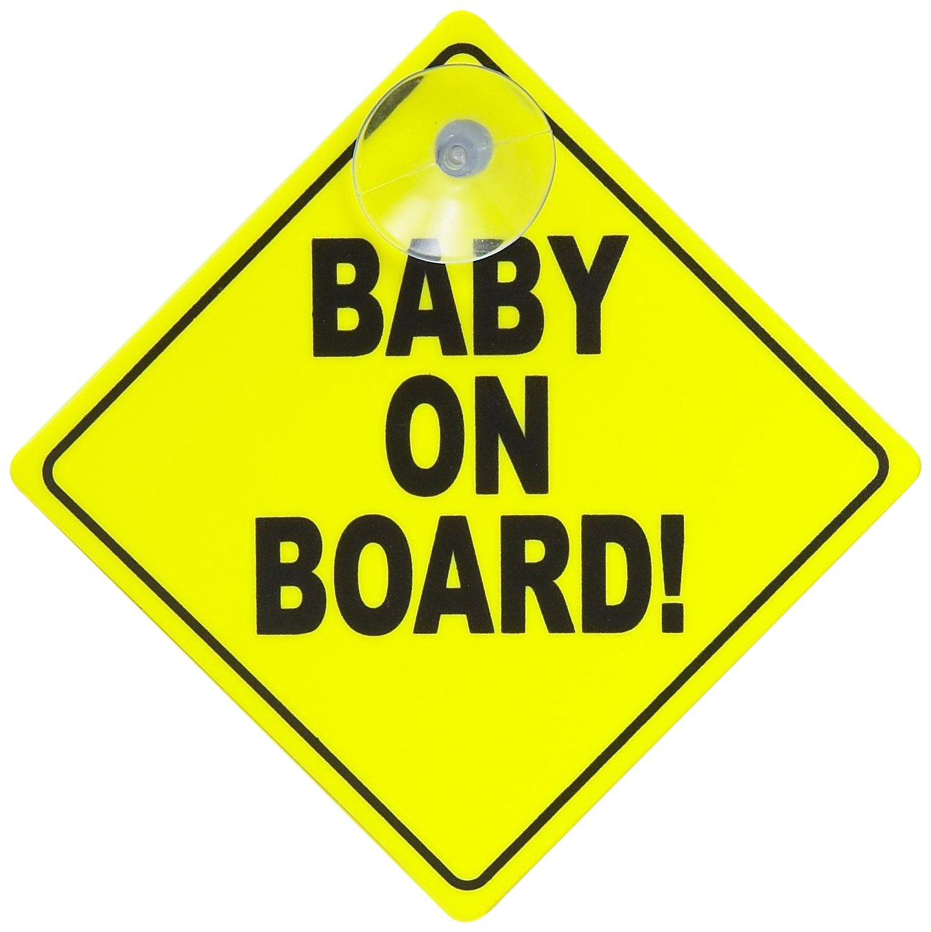Gripfast Baby On Board Sign GBOBS