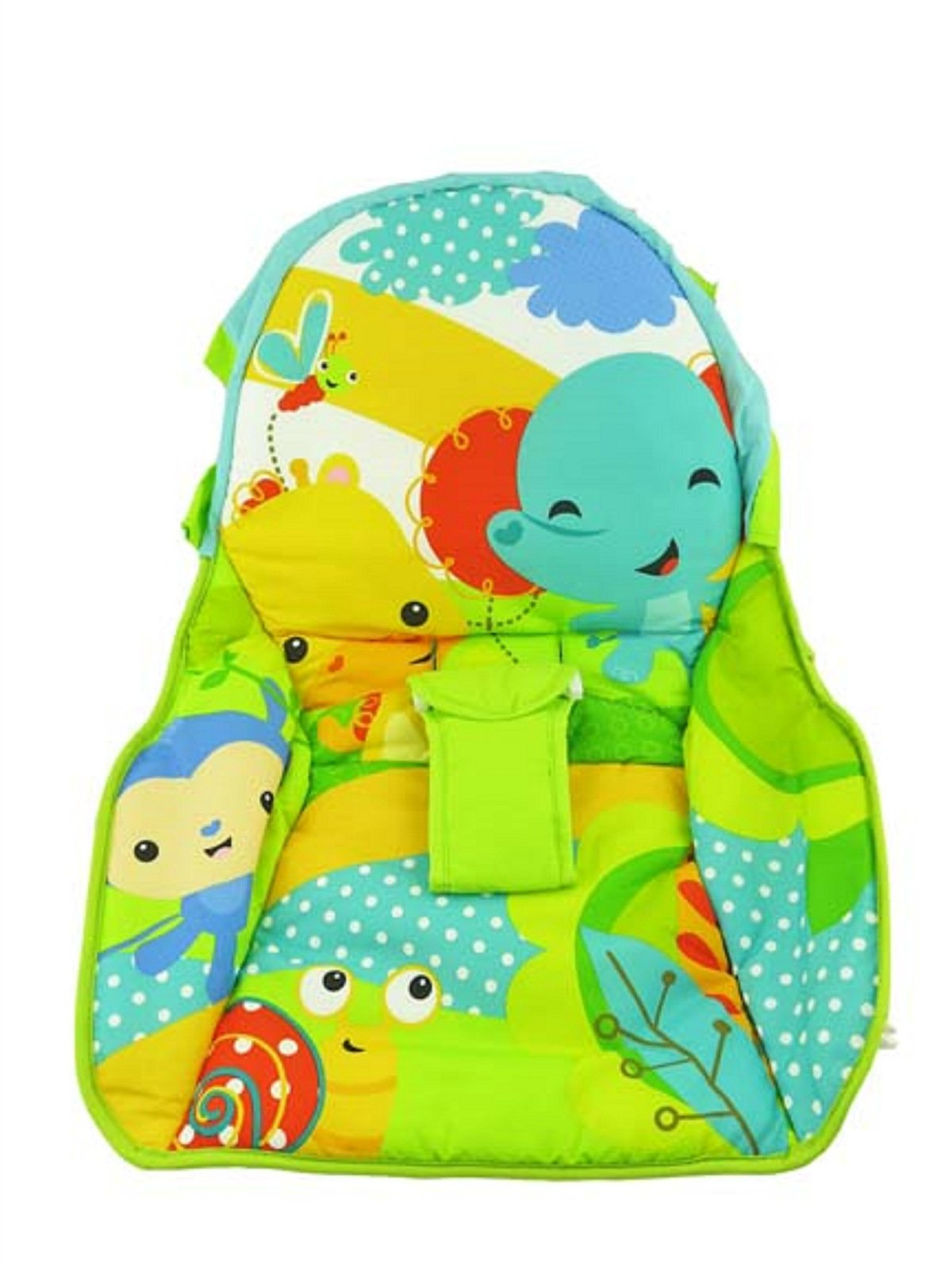 Fisher Price INFANT / NEWBORN TO TODDLER ROCKER Sleeper Replacement Seat Pad , DMR86 BEFORE 6/4/16 RAINFOREST FRIENDS PAD by Fisher-Price