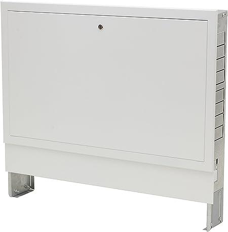 NANOPANEL Unterputz Verteilerschrank Verteilerkasten f/ür Fu/ßbodenheizung 4 bis 12 Heizkreise 10 | 715mm // 575-665mm // 110-170mm