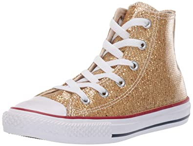 7ca7f283575a Converse Girls Kids  Chuck Taylor All Star Sport Sparkle High Top Sneaker