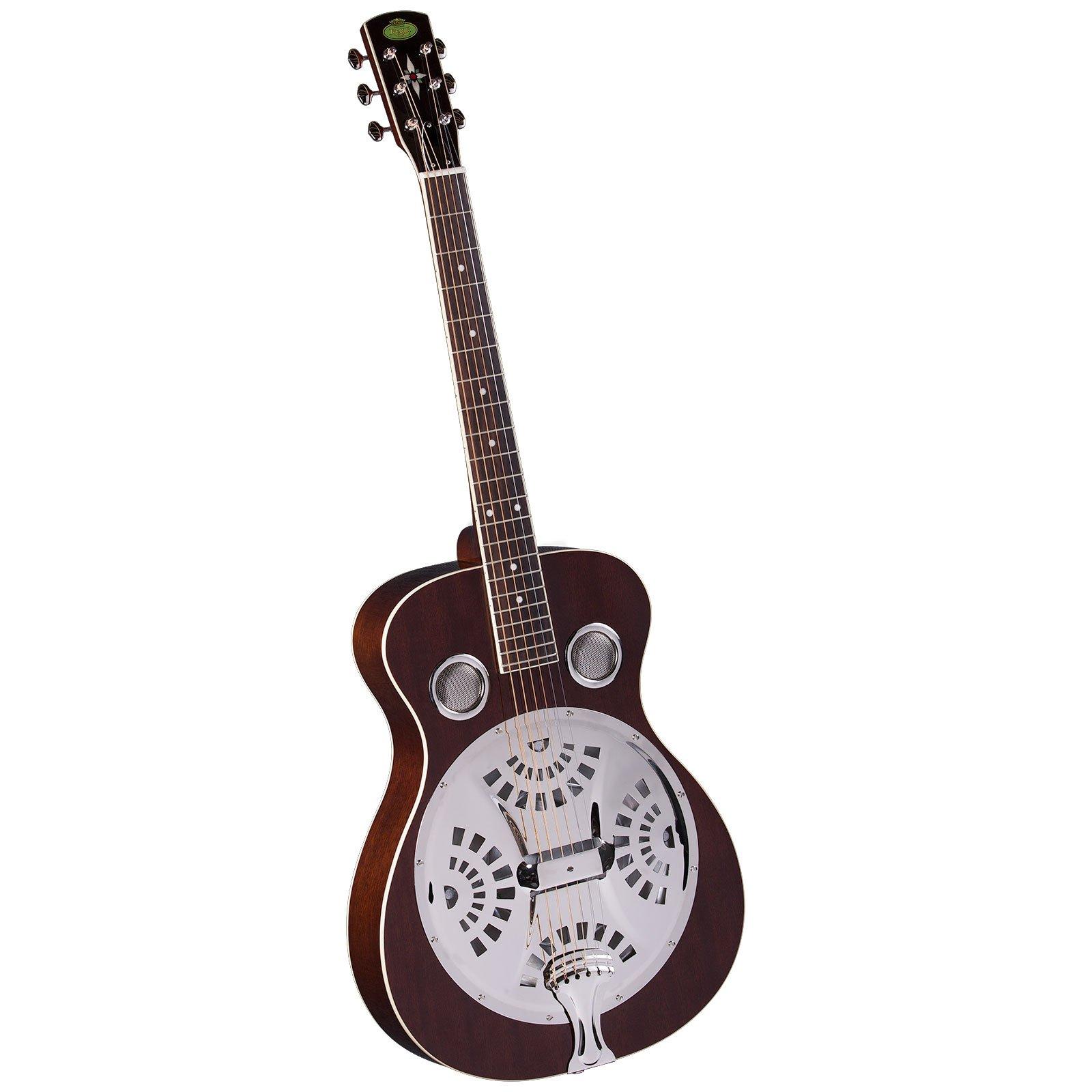 Regal RD-40M Studio Series Roundneck Resophonic Guitar - Natural Mahogany by Regal Resophonic Guitars
