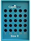 Size 0 Capsule Holding Tray by Capsuline - 25 Count