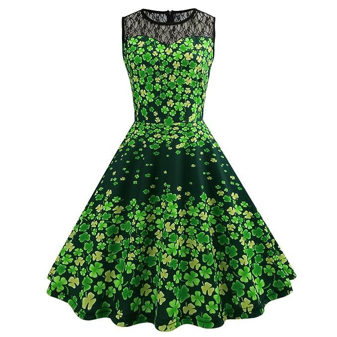 Retro vestito da tè di Swing degli anni 50 del partito di sera del partito