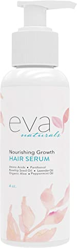 Nourishing Growth Hair Serum – All Natural Leave-In Hair Thickener for
