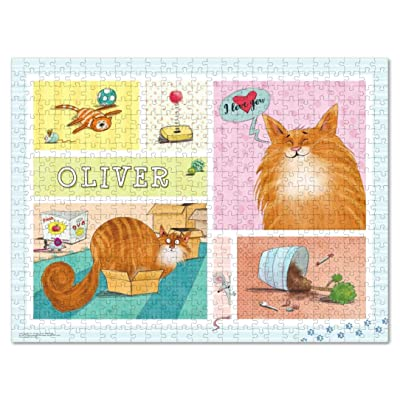 Custom Puzzle for Adults 500 Piece, Boredom Buster Activity, Cat Lover Gift: Toys & Games