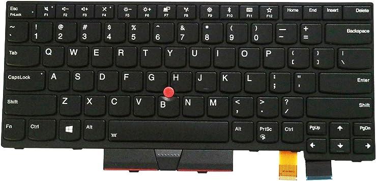 AUTENS - Teclado de Repuesto para Lenovo ThinkPad T470 T480 (no Compatible con T470s T470p T480s T480p)
