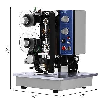 Happybuy Impresora Etiqueta Semiautomático Impresora ...