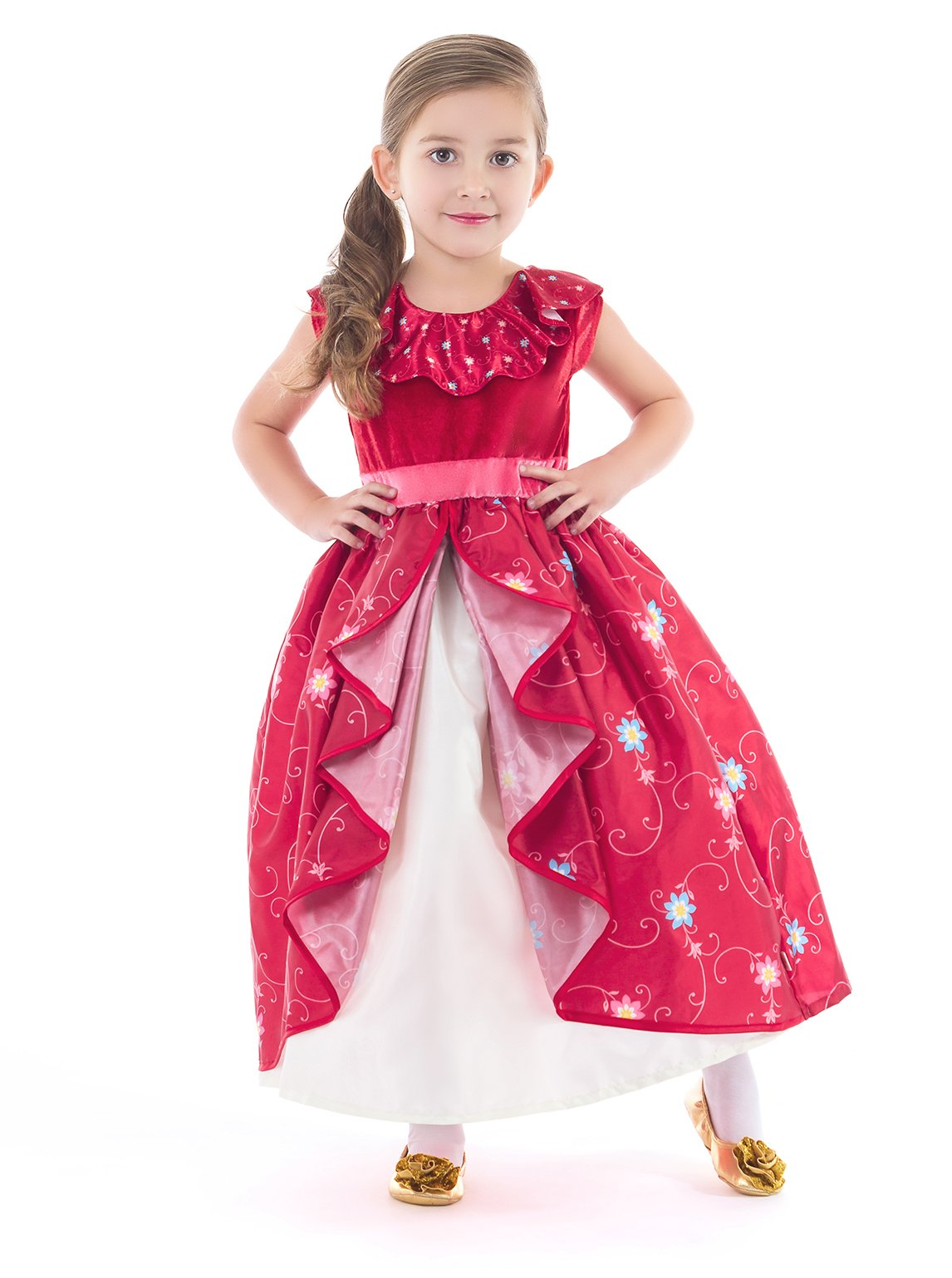 Little Adventures Traditional Spanish Princess Girls Costume - Medium (3-5 Yrs)