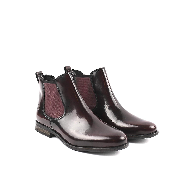 Apple of Eden Manon Bordeaux 59 Chelsea Boot (40 EU): Amazon