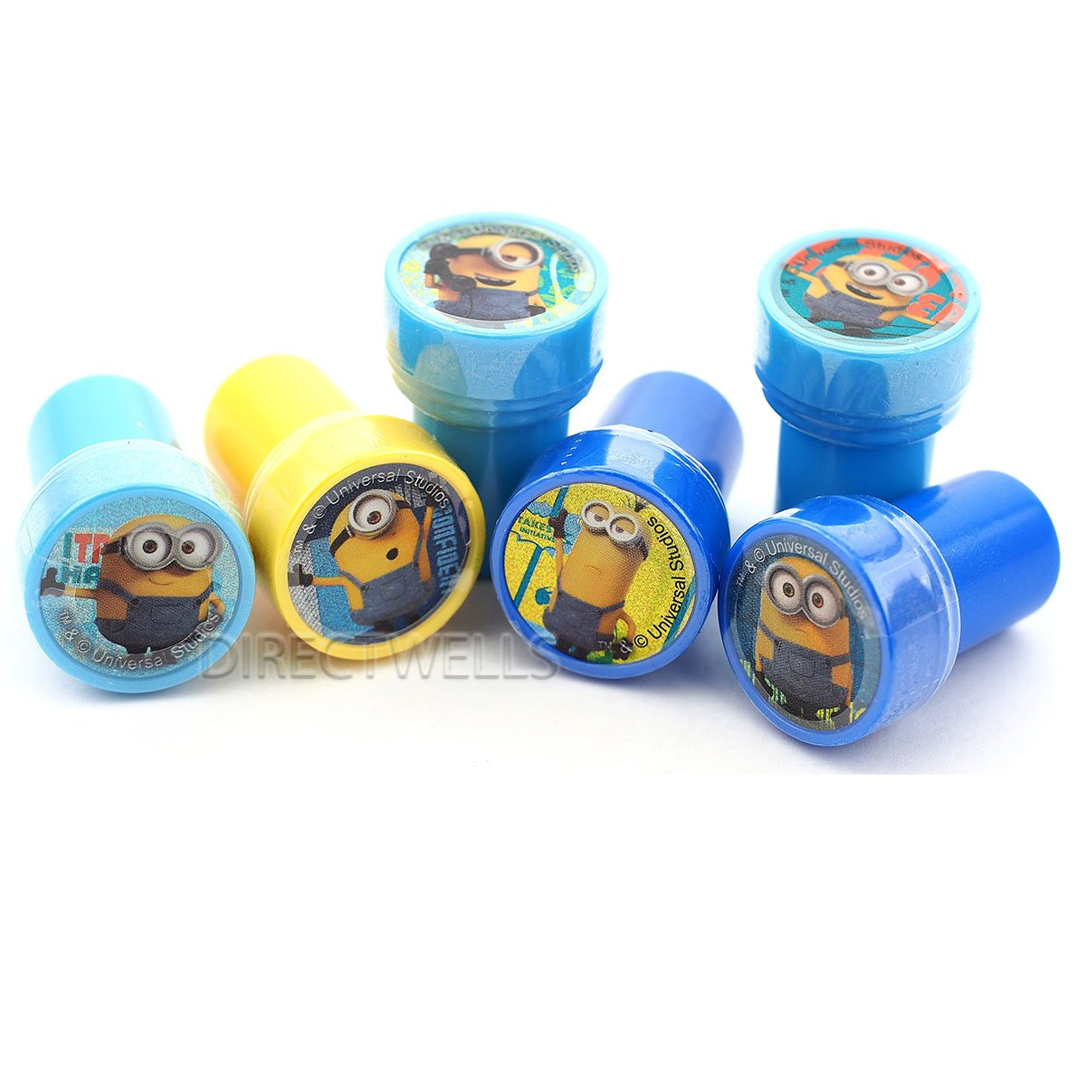 Amazon.com: Despicable Me Minions Stampers Party Favors (10 Stampers): Toys  U0026 Games