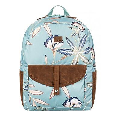 b5f3132157 ROXY Caribbean Backpack Trellis Bird Flower Schoolbag ERJBP03734-BKW6 Roxy  bags