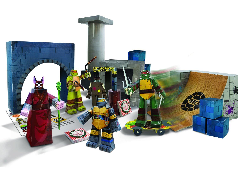 TMNT Blueprints Turtles Lair Deluxe Pack