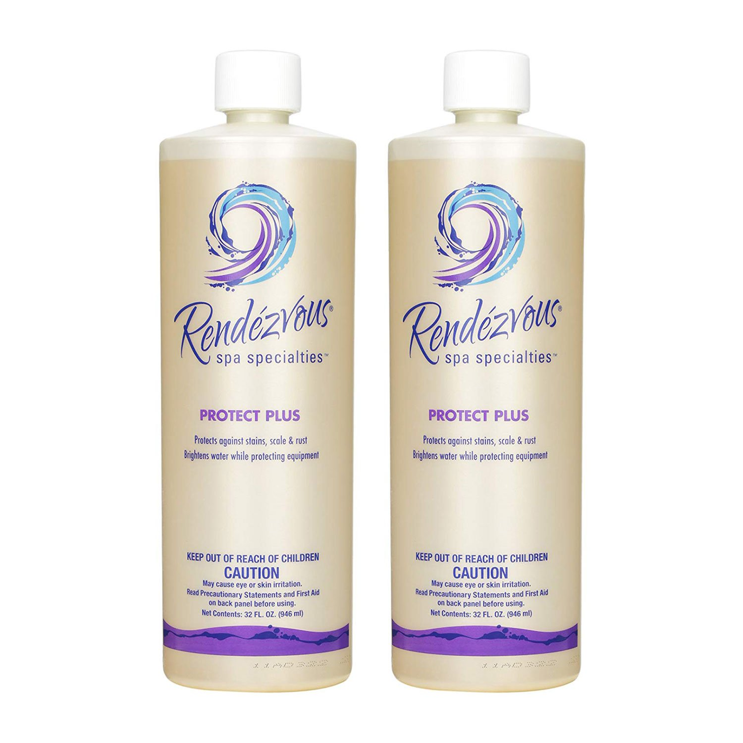 Rendezvous Spa Specialties Rust & Stains Protect Plus Spa Concentrate (2 Pack) by Rendezvous Spa Specialties