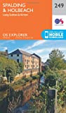 OS Explorer Map (249) Spalding and Holbeach