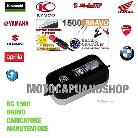 Cargador Mantenedor de Carga de Batería BC BRAVO 1500 diseño ...