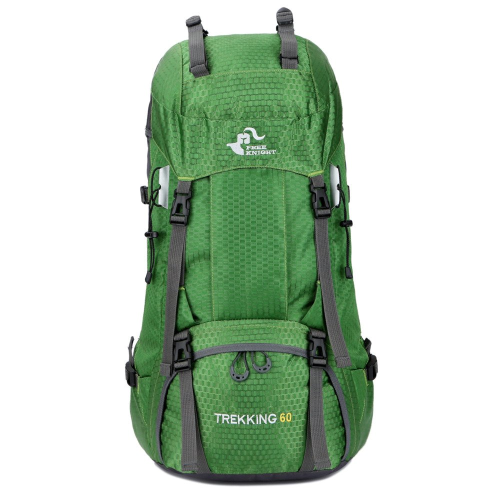 Sammid 60L Big Travel Climbing Camping Mountaineering Rain Cover Hiking Camping Travel Outdoor Daypack - Green by Sammid