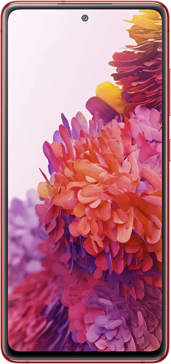 Samsung Galaxy S20 FE 5G | Factory Unlocked Android Cell Phone | 128 GB | US Version Smartphone | Pro-Grade Camera, 30X Space Zoom, Night Mode | Cloud Red