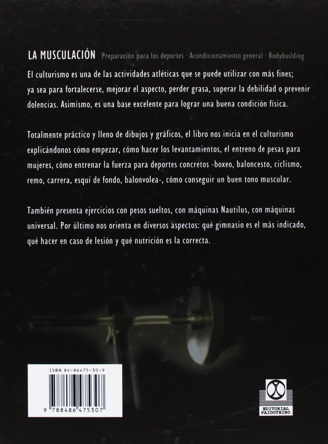 La Musculacion (Spanish Edition): Bill Pearl: 9788486475307: Amazon.com: Books