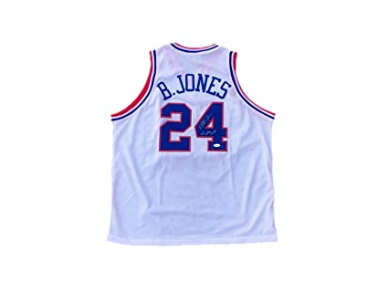 0addff15c Autographed Bobby (Philadelphia 76ers) Jones Jersey - Sixers 83 Champs -  JSA Certified -