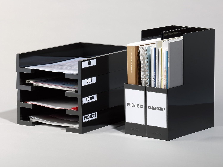 DURABLE 829419 - Pocketfix A5, tasca adesiva per documenti, cartelle, f.to A5, trasparente, confezione da 25 pezzi