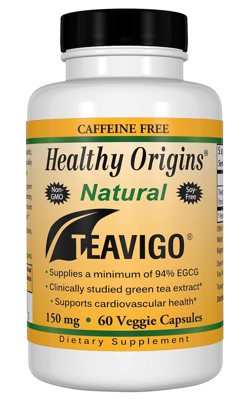 Healthy Origins teavigo (94% Egcg) Green Tea, 150 Mg, 60 Veggie Caps
