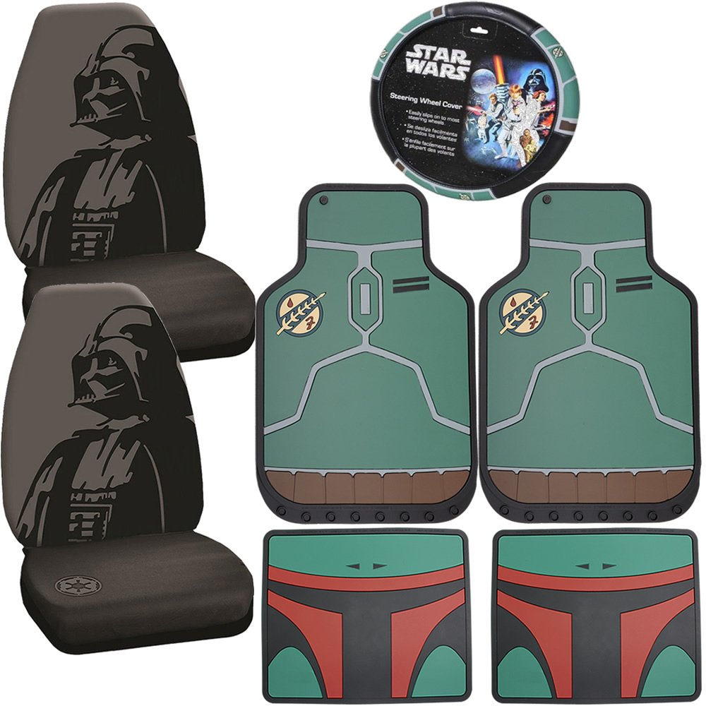 Brilliant Amazon Com U A A Inc Licensed Star Wars Boba Fett Rubber Caraccident5 Cool Chair Designs And Ideas Caraccident5Info