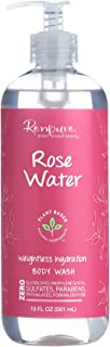 product image for Renpure Plant-Based Beauty Rose Water Weightless Hydration Body Wash, 19 Fluid Ounces