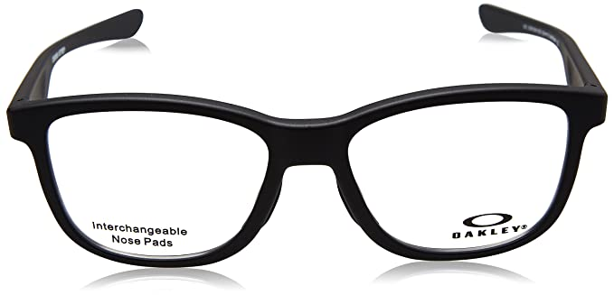 4669334f2ce Oakley CROSS STEP OX 8106 SATIN BLACK TRUBRIDGE NOSEPADS unisex Eyewear  Frames  Amazon.ca  Clothing   Accessories