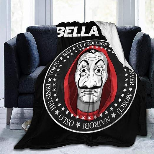 KXKXCVFF Bella Ciao Manta De Felpa De Terciopelo De Franela ...