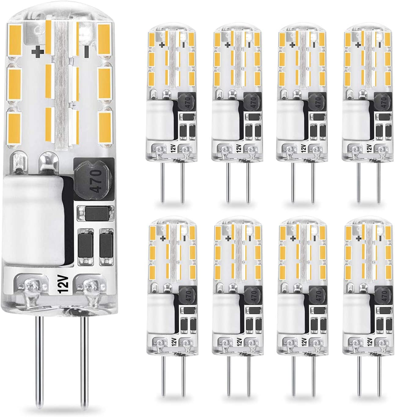 6 Ampoules Halogene G4 10w 12v Clear Lamp LSC 2000 H