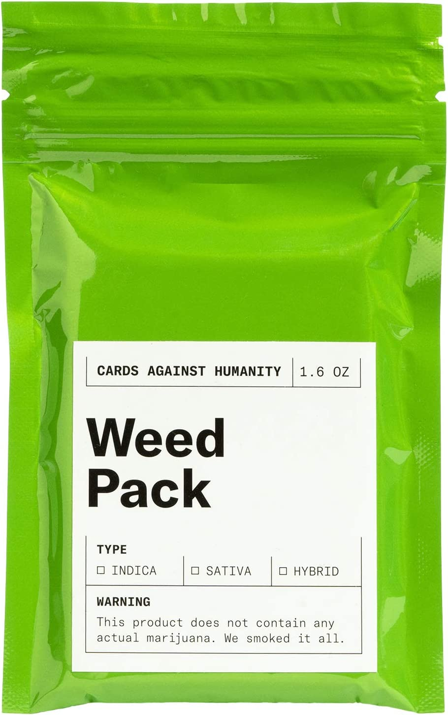 Cards Against Humanity Limited Edition Weed Pack New CAH Weed Expansion