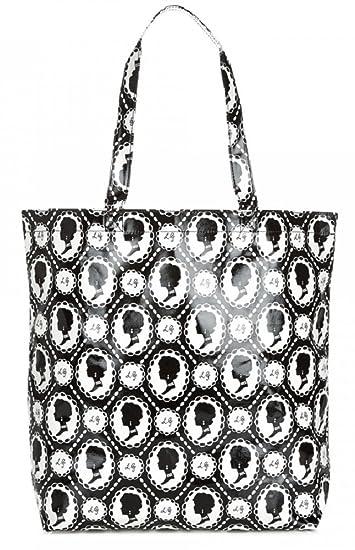 5ba62fa7fe2b9 Lulu Guinness Cameo Print Large Laminate Lily Tote Bag RRP £55  Amazon.co.uk   Shoes   Bags